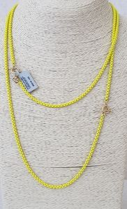 David Yurman Bel Aire Chain Necklace in Yellow Wi